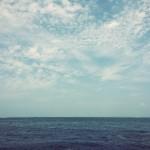 【高解像度】静かな海と空