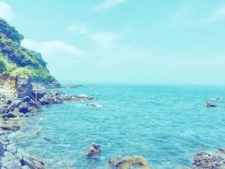 【高解像度】青い入江