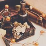 【高解像度】茶色の瓶と宝箱(3パターン)