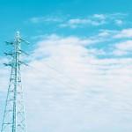 【高解像度】鉄塔と涼しげな空(3パターン)