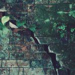 【高解像度】亀裂が入ったレンガ壁(3パターン)