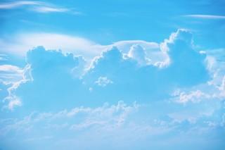 【高解像度】むくむくとした雲(3パターン)