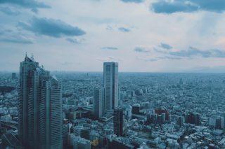 【高解像度】新宿の街並み(3パターン)