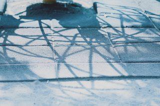 【高解像度】グローブジャングルジムの影(3パターン)