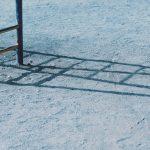 【高解像度】折り畳まれたようなうんていの影(3パターン)